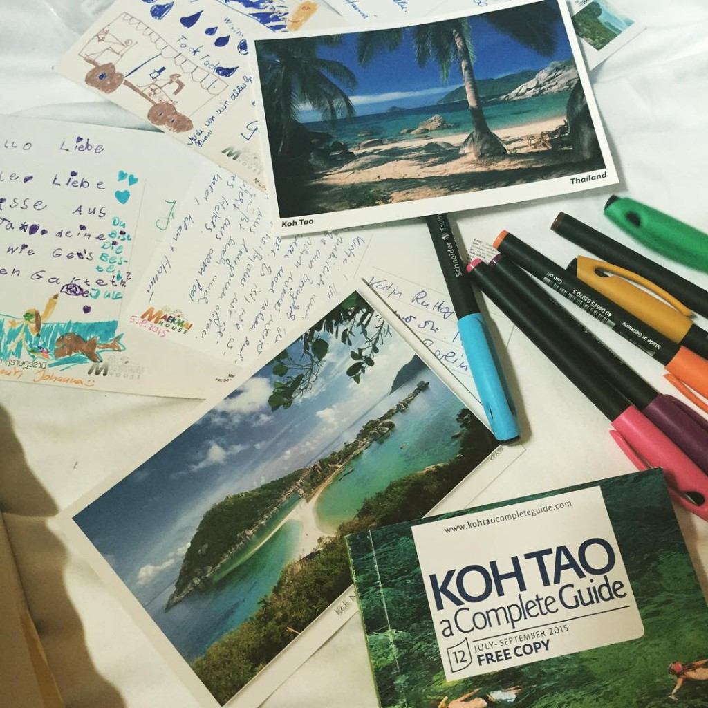 postkarten Kontakt