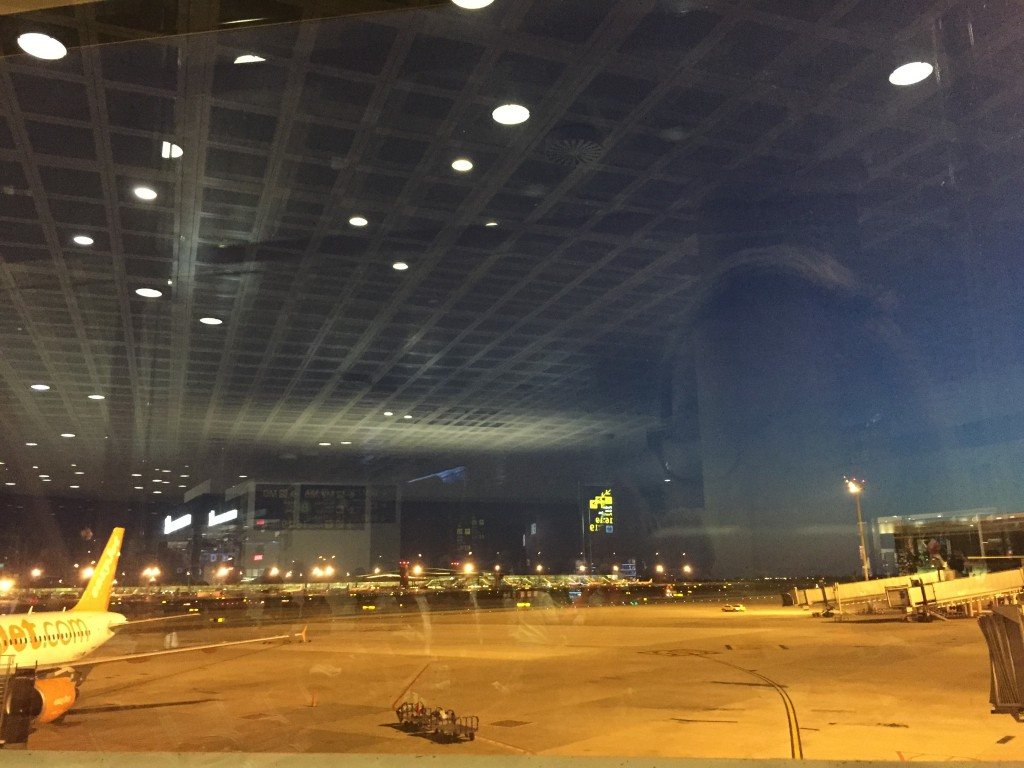 Flughafen I Barcelona 2015 Johanna Voll