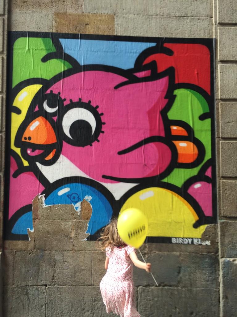 Streetart Barcelona 2015 Johanna Voll