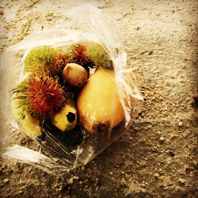 verrückte Obstsorten