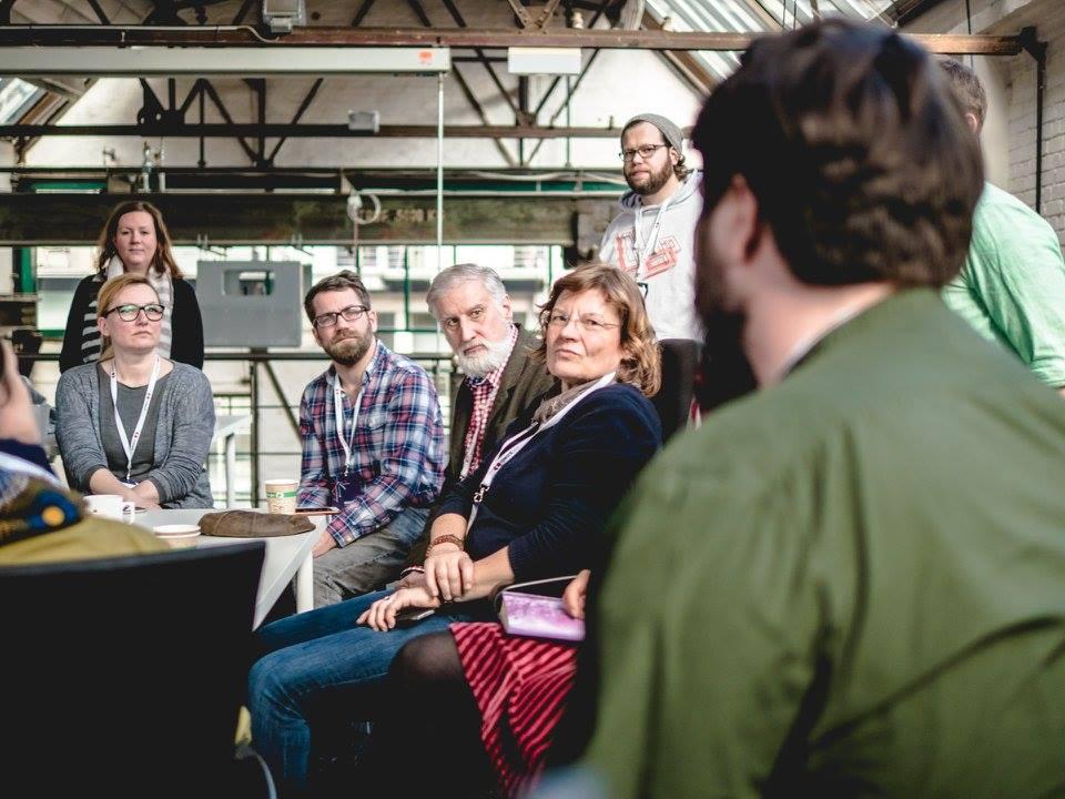 Diskussion bei der Cowork2016